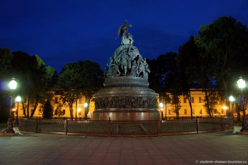 Памятник «Тысячелетие России» — монумент, воздвигнутый в Великом Новгороде в 1862 году в честь тысячелетнего юбилея русской государственности.