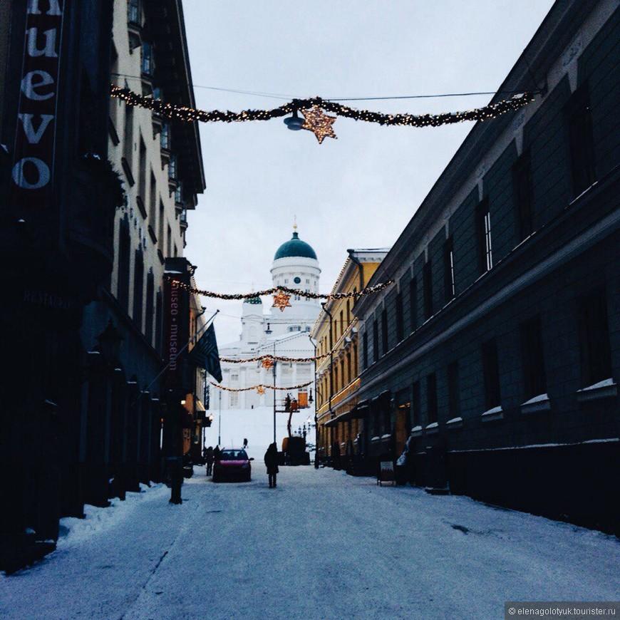 Рождественское настроение еще осталось в городе. Финны весь доброжелательны. Было очень странно то, что все финны пытались со мной говорить по фински. Возмоно это знак, что надо учить язык.