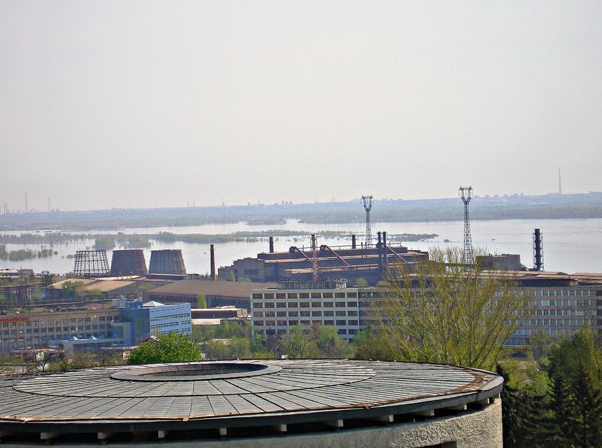 Панорама Тракторного завода.