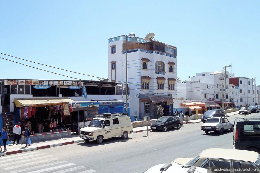 Главная улица Тагазута.