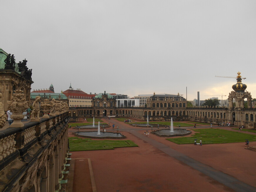 Двор Дрезденской галереи