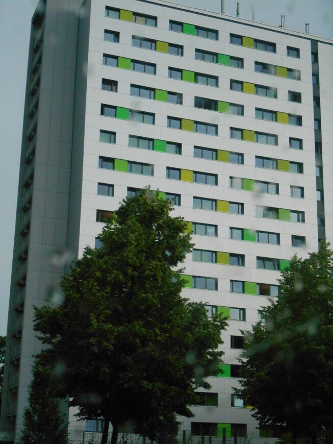 Общежитие для студентов.