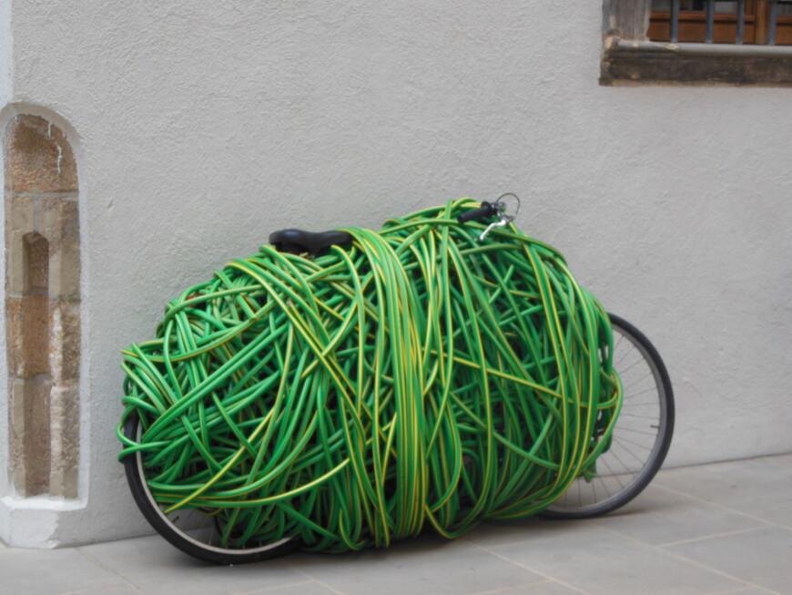 Странный велосипед....