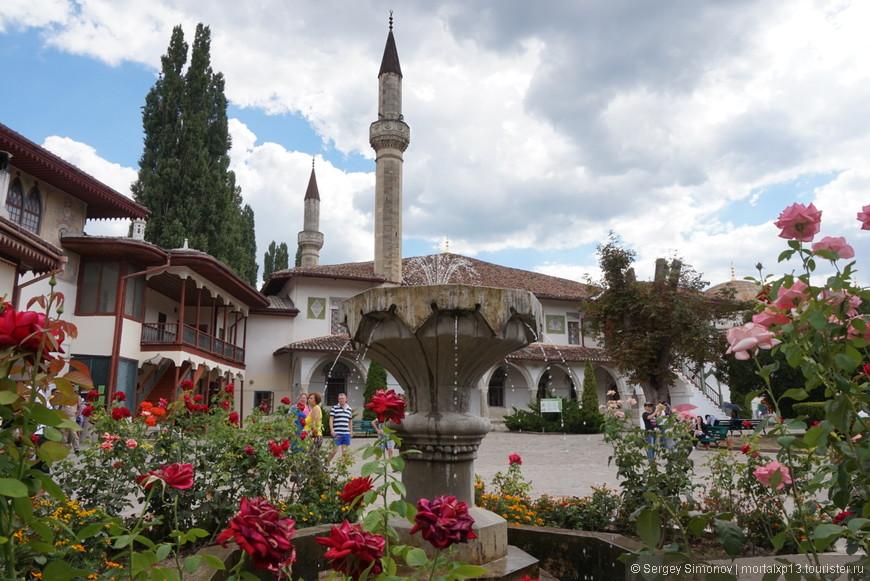 главная мечеть во дворце