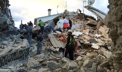 Новое землетрясение произошло в Италии
