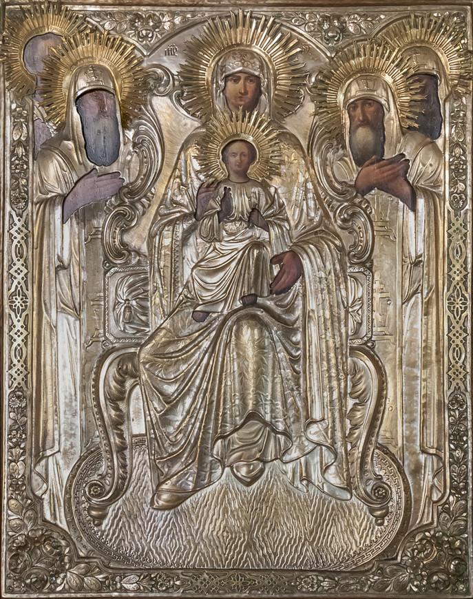 Свенская икона Божией Матери в Троицком храме Болхова
