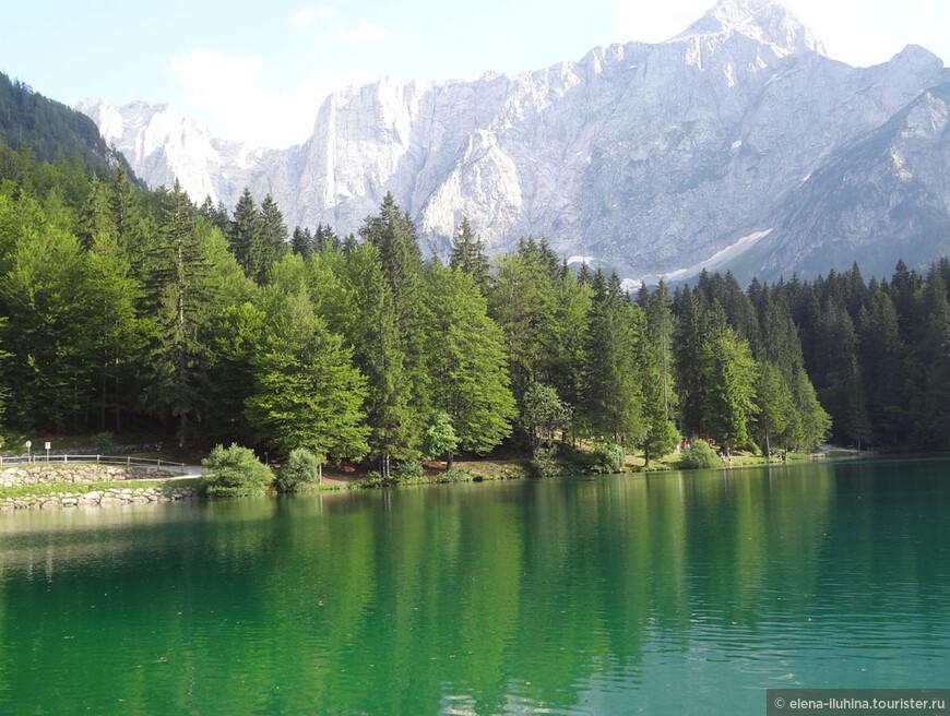 Лаги ди Фузине - Озера Фузине - ледникового происхождения.