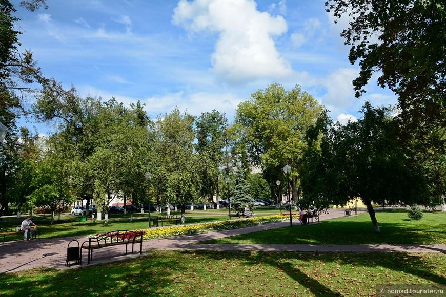 Сквер на Соборной площади