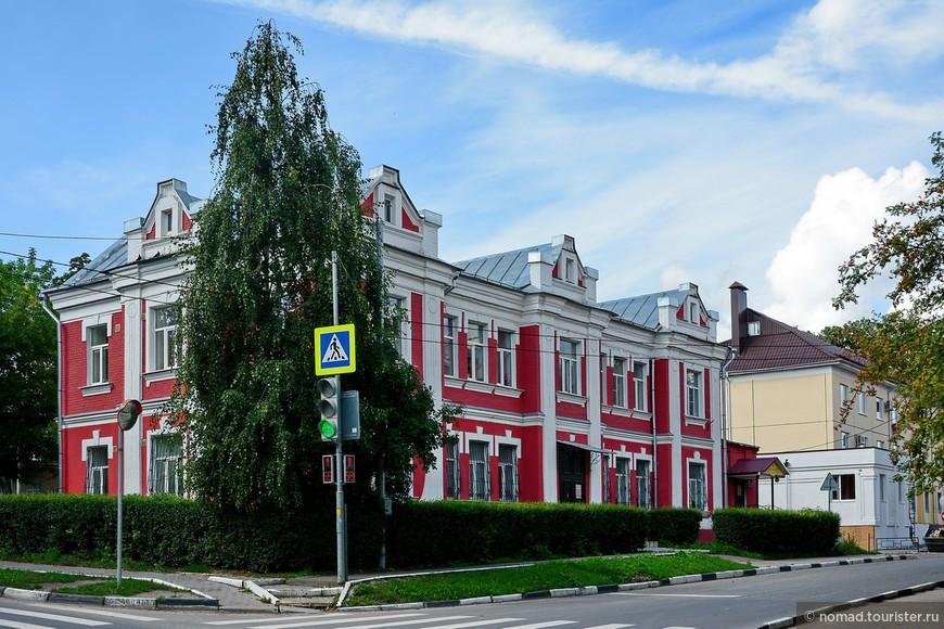 Особнячок на Революционной улице.
