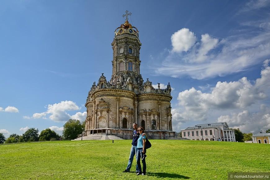 Строительство церкви было закончено в 1699 году, или даже раньше. Но освятить ее удалось только через пять лет.