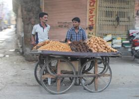 Колорит улиц Джайпура