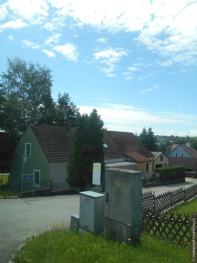 Дорога из Праги в Вену. Проезжаем ухоженные города.