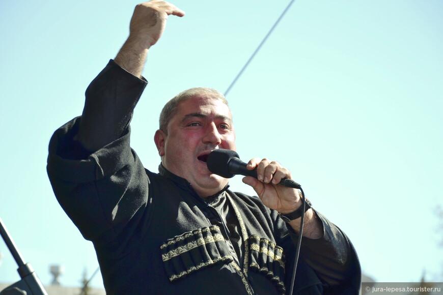 Ансамбль народной грузинской песни Elesa.