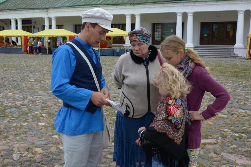 Детская экскурсия в Суздале на Торговой площади
