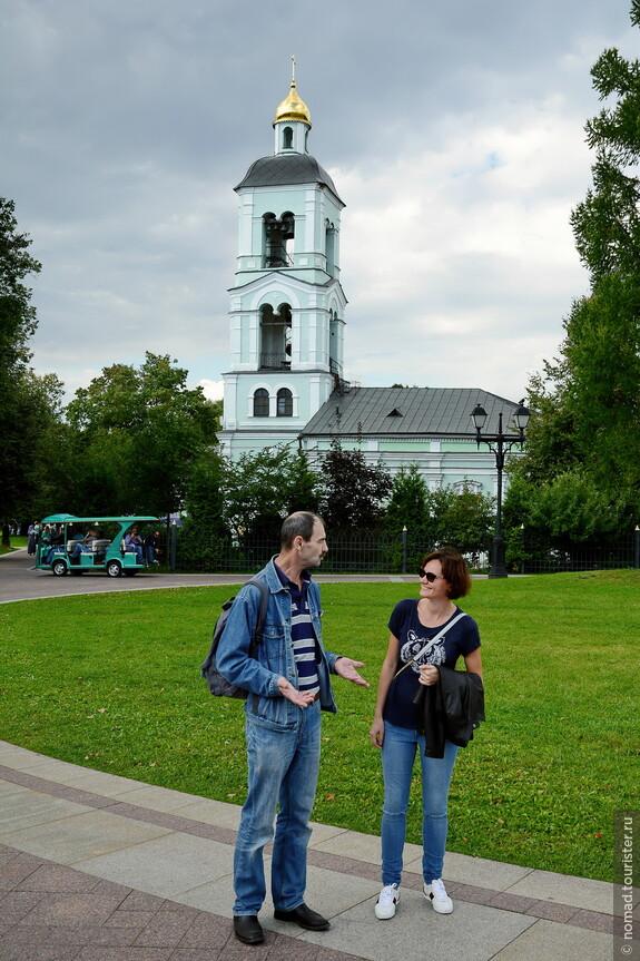 Думаете, Сергей рассказывает что-то смешное? Нет, просто Юля все время с улыбкой!! )