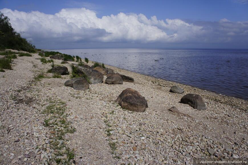Все берега озера Ильмень заилены и практически не дают возможности выйти к озеру. Исключение составляет коростынский берег, который тянется вдоль озера на восемь километров. Здесь приятно погулять по каменистому пляжу, даже искупаться можно.
