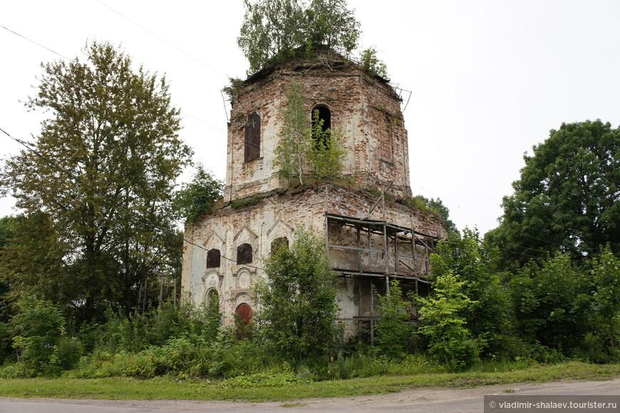 Церковь Успения Пресвятой Богородицы. Построена в 1768 году.
