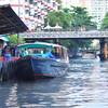 Лодка по каналу до исторического центра