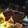 Вид на кварталы монахов с Золотой горы