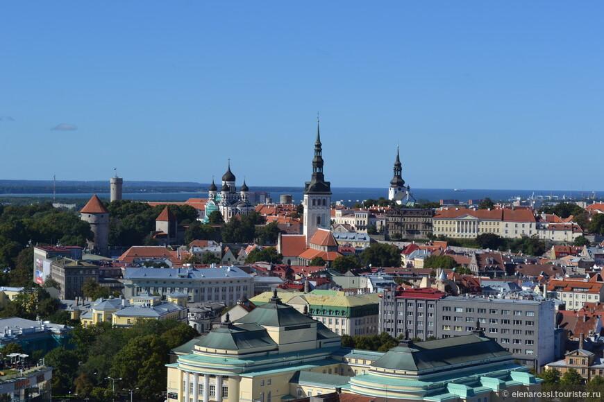 """Шпили, купола, башни, что """"прорастают"""" сквозь красные черепичные крыши - панорама в обрамлении синей морской дали! Мы привыкли к этому знакомому образу Таллинна. Этот образ прекрасен."""