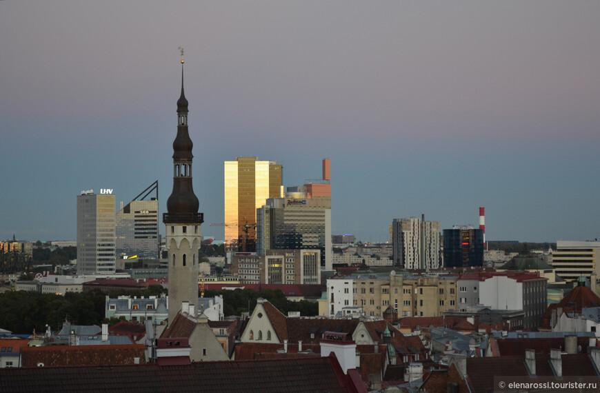 Современный профиль Таллинна. Красиво. Гармонично!