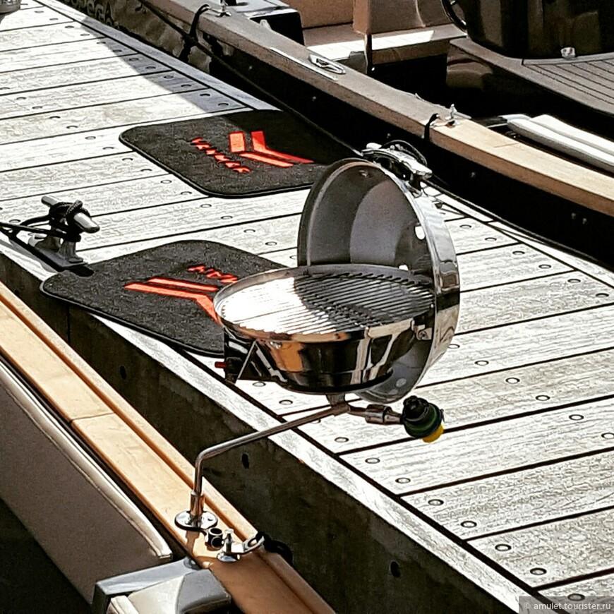 технологии нового века - барбекьюшка для лодок