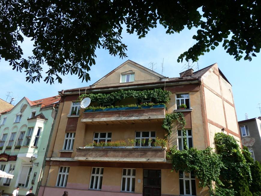 Зелёный балкончик.