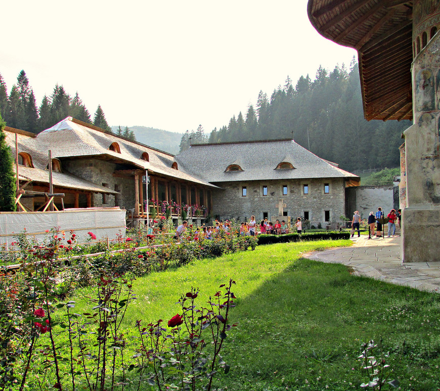 Монастырь основан в 1488 г. молдавским господарем Штефаном III.