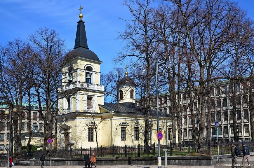 Православная церковь Святой Троицы.
