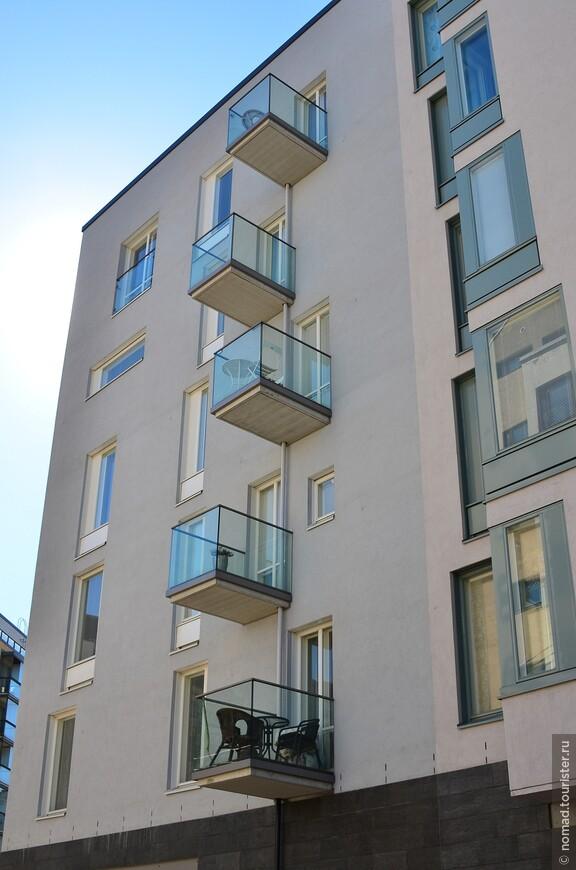 А как вам такие балкончики? ))