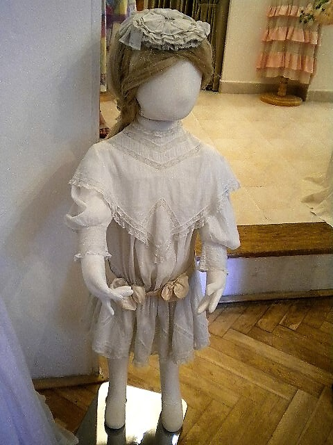 Деское платье UNI-SEX для малышей до 4 лет.