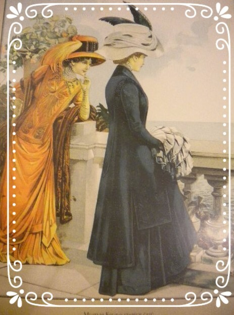 Титульный лист журнала моды 1906 г.
