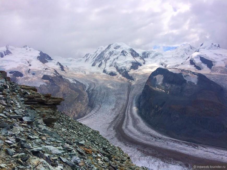 Glacier du Gorner / Ледник Горнер