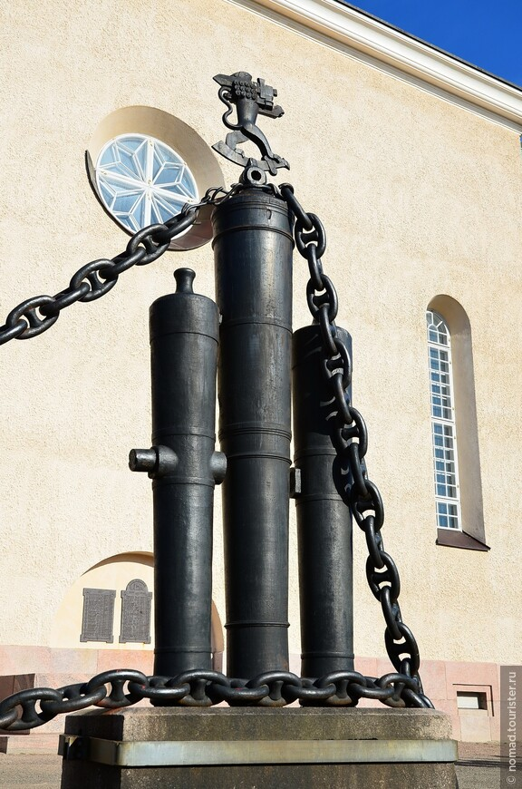 Церковь Суоменлинна.