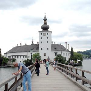 Эбензее в Траунфиртель, Гмунден и Замок Орт.
