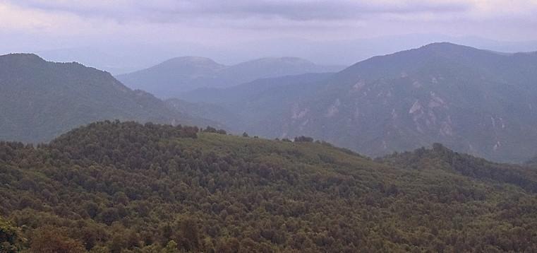 Большой Кавказский хребет, Краснодарский край