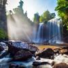 Водопады Пнум Кулен