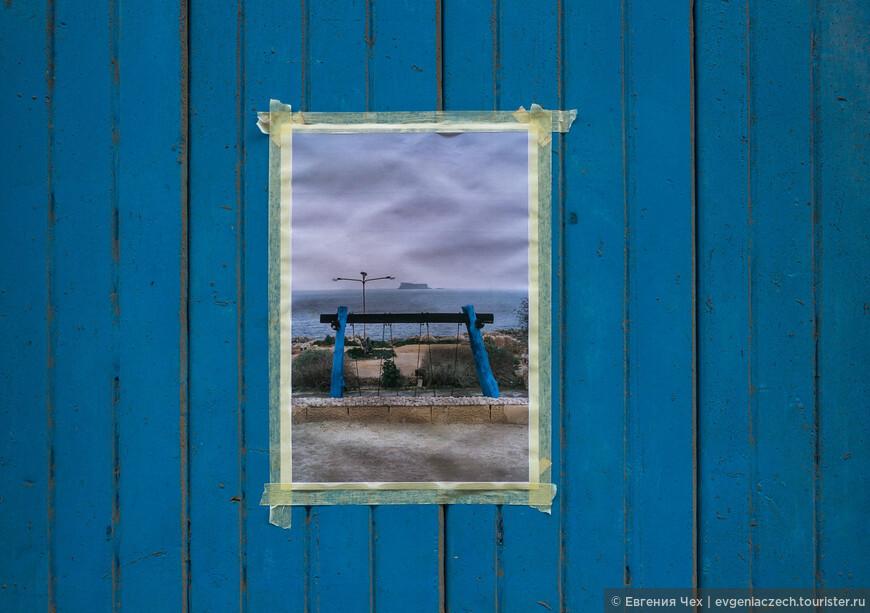 Картинка на двери