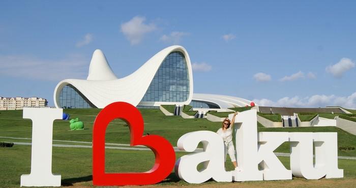 Баку без визы