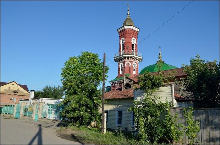Астрахань - город мечетей