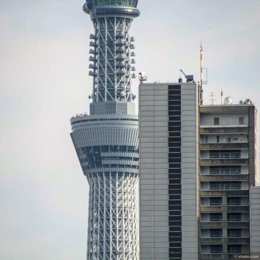 Токийская телебашня. Tokyo Sky Tree. Пока что самая большая телебашня в мире 634 м