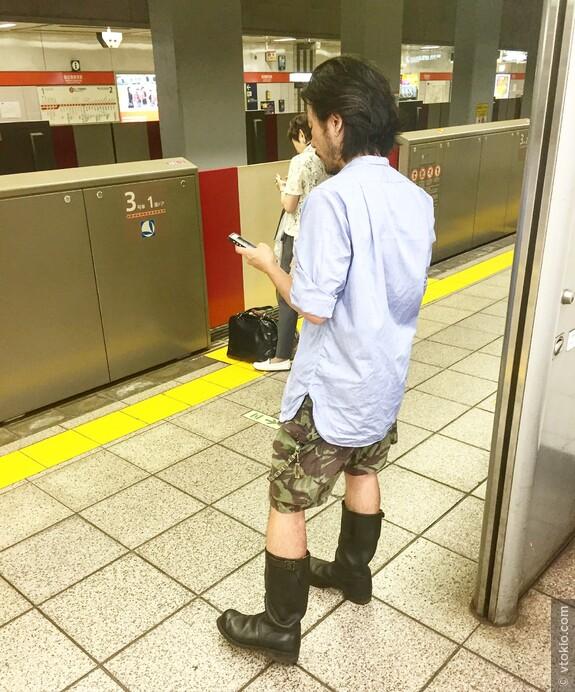 Японская осенняя мода. Когда на улице пока еще 30 градусов