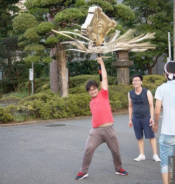 Подготовка к фестивалю в храме Сенкакудзи