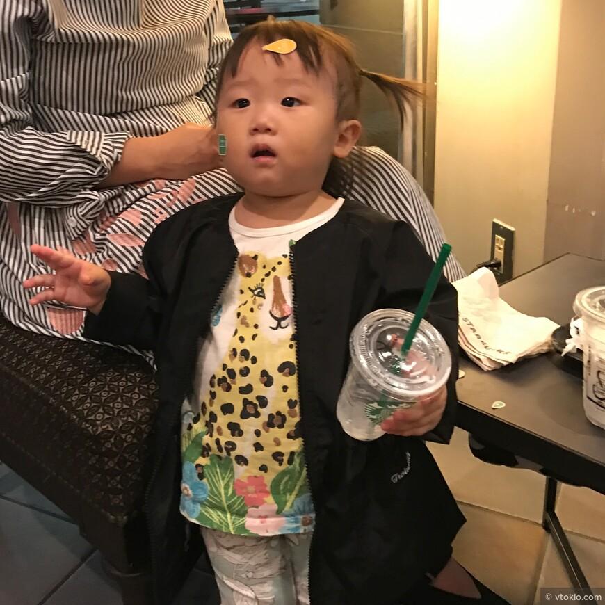 Японские дети прекрасны и промаркированы.