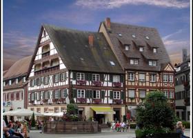 Генгенбах - сказочный фахверковый город.