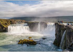 Водопад Goðafoss