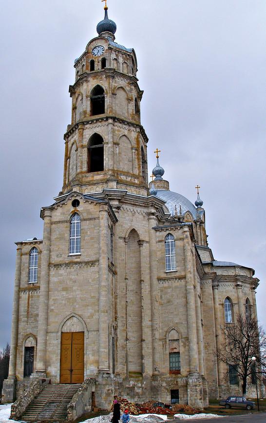 Хотя церковь находилась тогда (в 2011 г.) не в лучшем состоянии, она произвела большое впечатление.