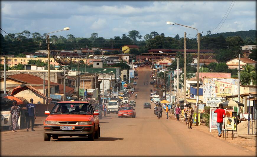 Главная улица Абенгуру.