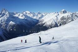 В Домбае откроются новые горнолыжные трассы