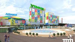 Самый большой в РФ крытый аквапарк появился в Новосибирске